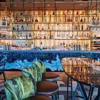 Bar at Savage Garden, Brunch in London, Bottomless Brunch London, Brunch with a View