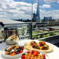 Brunch at Savage Garden, Brunch in London, Bottomless Brunch London, Brunch with a View