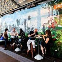 Terrace at Savage Garden, Brunch in London, Bottomless Brunch London, Brunch with a View