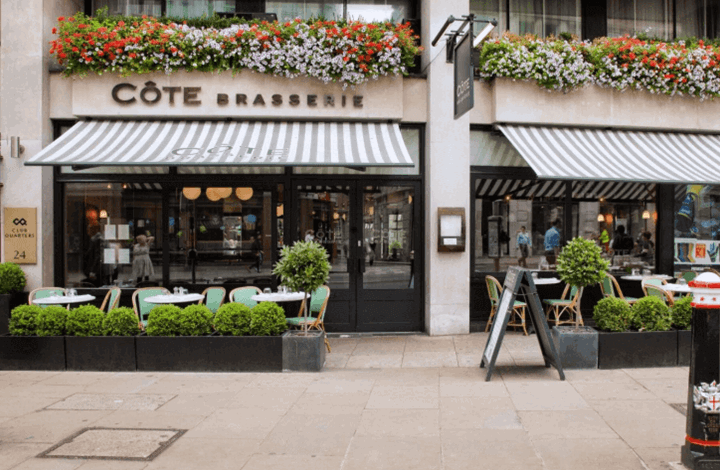Côte Brasserie St Pauls | Breakfast in London | Book Breakfast at Côte | Book Brunch London | Book Sunday Lunch |  Bruncher | UK Premium Brunch Guide
