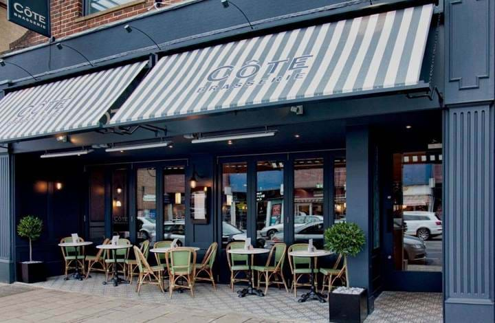 Côte Brasserie Cobham | Breakfast | Book Breakfast at Côte | Book Brunch| Book Sunday Lunch |  Bruncher | UK Premium Brunch Guide