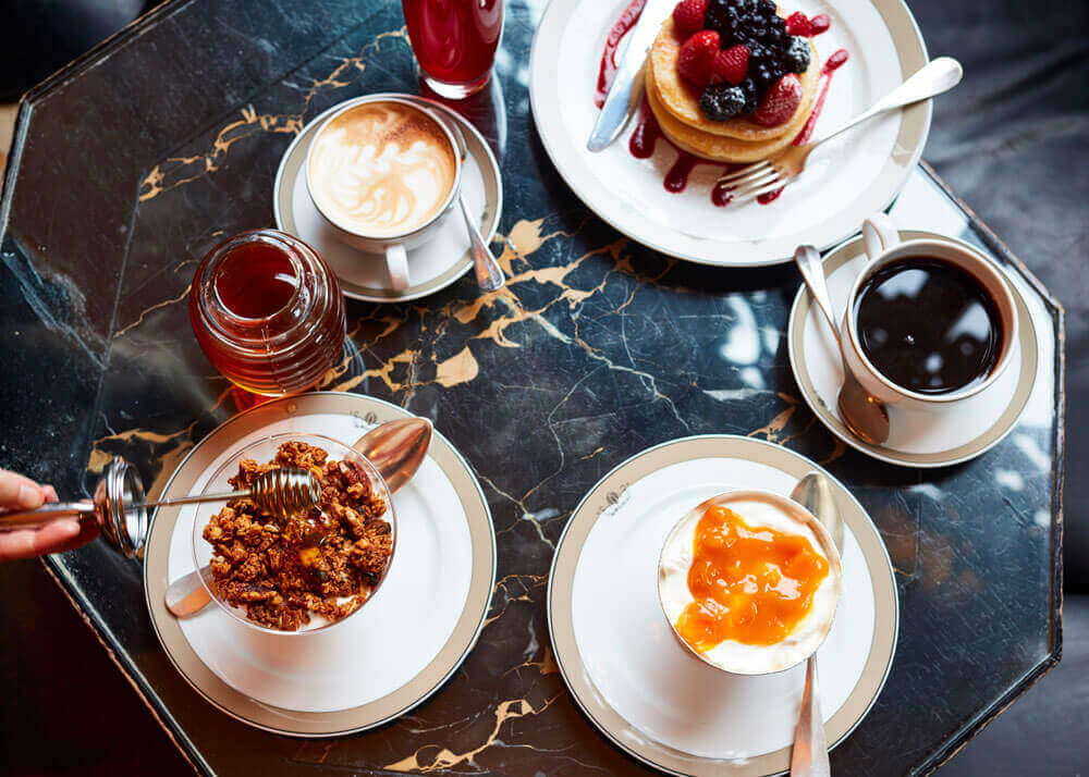 The Wolseley, Park Lane, Luxury Brunch, Luxury Breakfast, Brunch in Mayfair, 5* Hotel