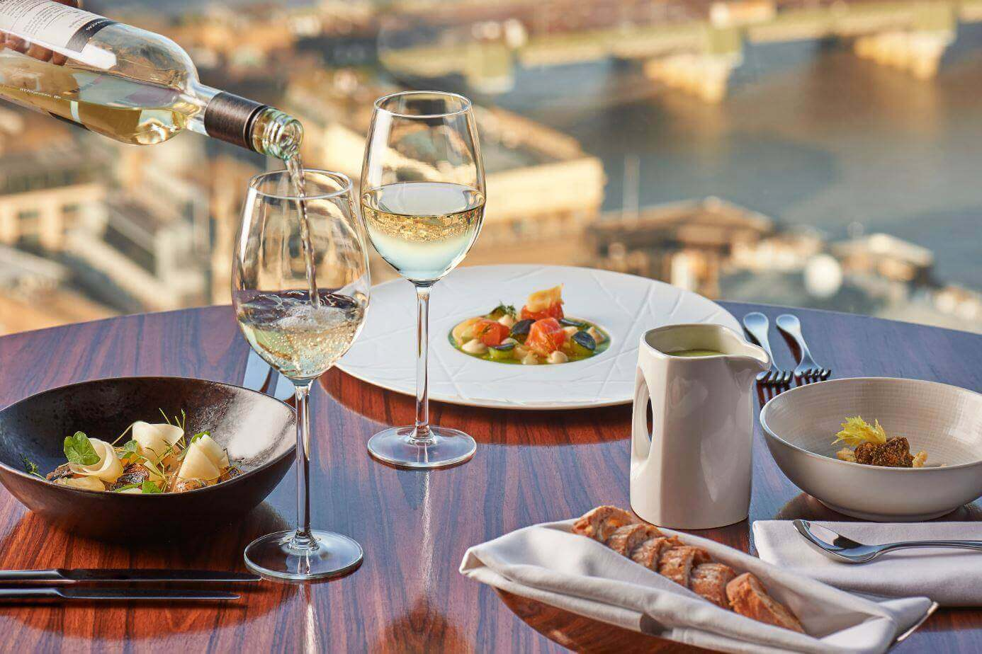 Brunch with a View | Brunch at the aqua shard