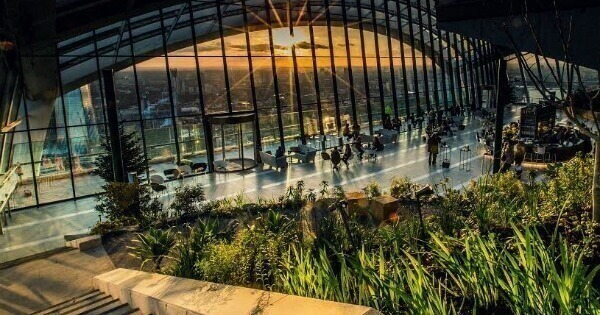 Best Outdoor Terraces London : Sky Garden