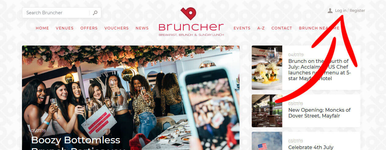UK Brunch competition | Win Brunch at your choice of venue and luxury overnight stay | UK Wide