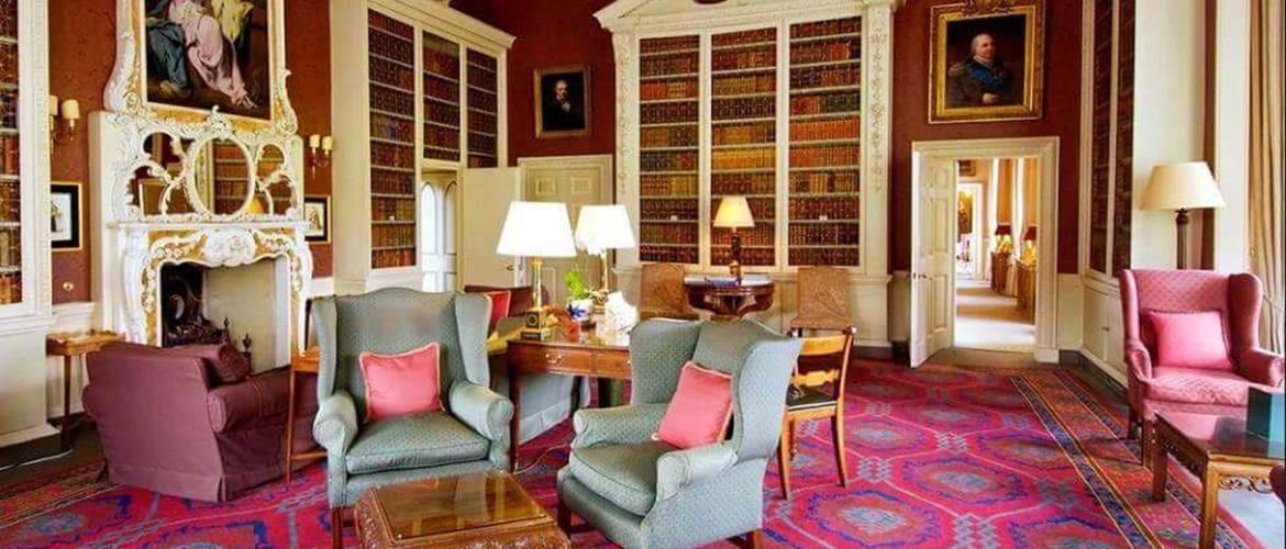 Hartwell House Portrait Room
