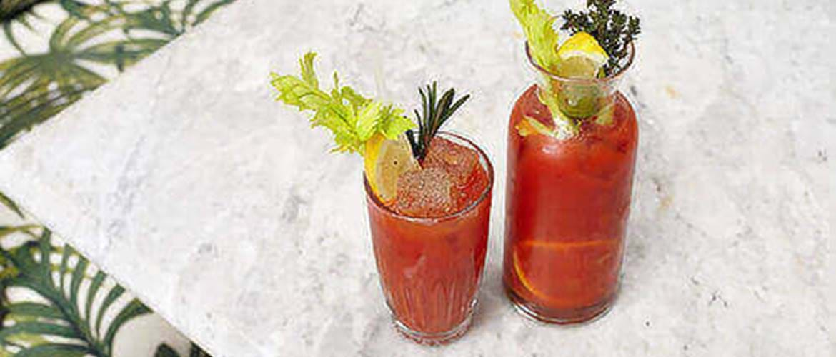 Bloody Mary's at Bourne and Hollingworth
