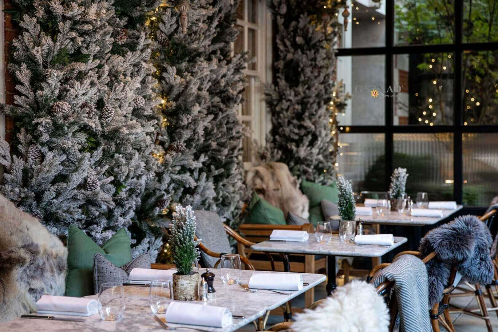 Christmas at Dalloway Terrace | A Bruncher's Guide to Christmas