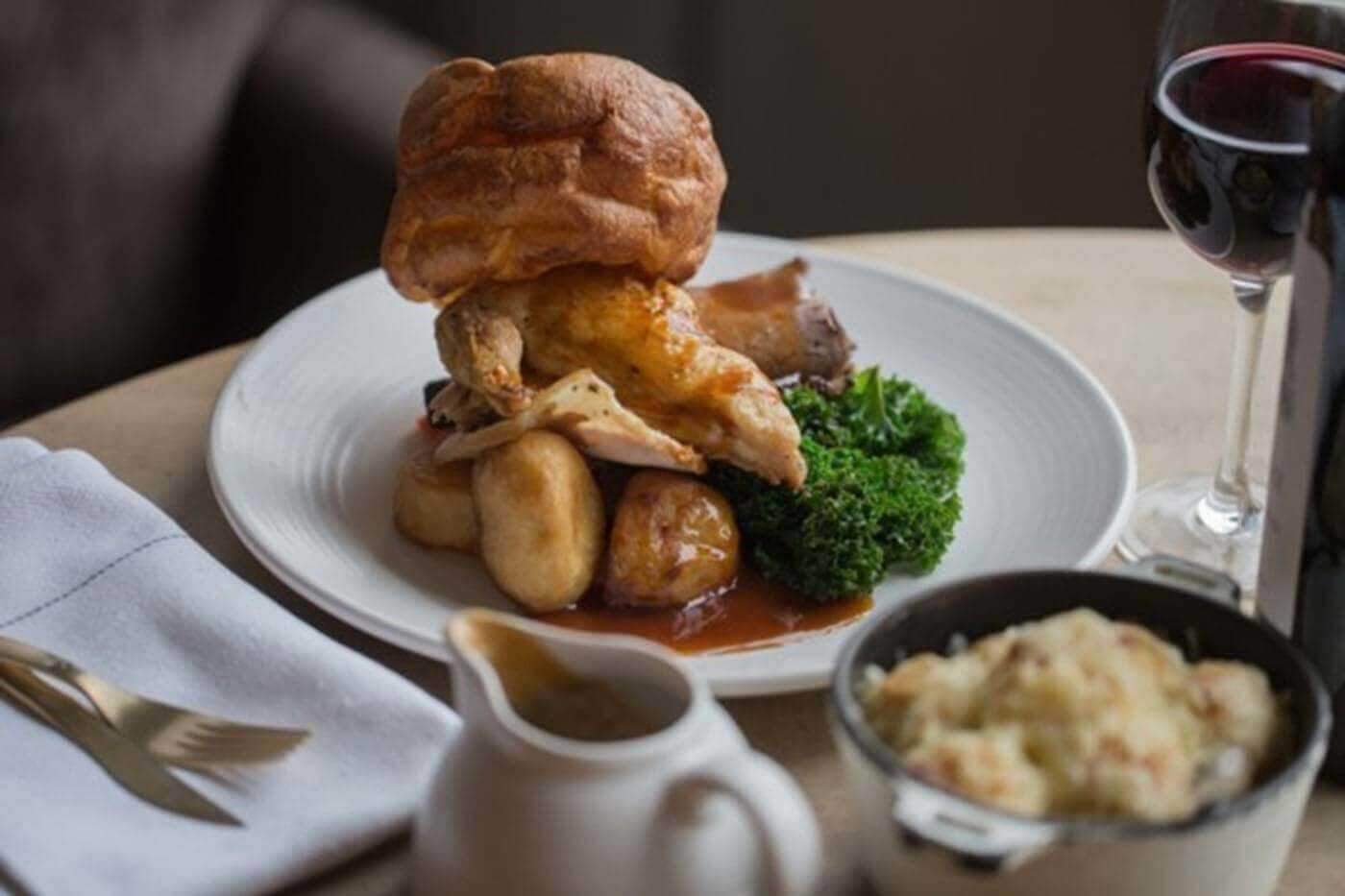 Sunday Lunch at The Morpeth Arms