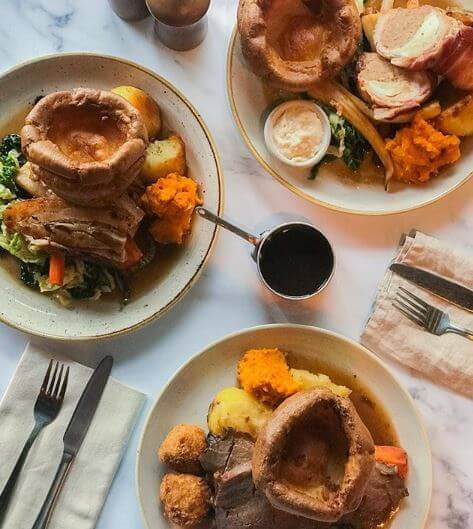 Sunday Roast at The Riverside London