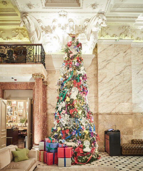 Christmas at The Berners Tavern | A Bruncher's Guide to Christmas