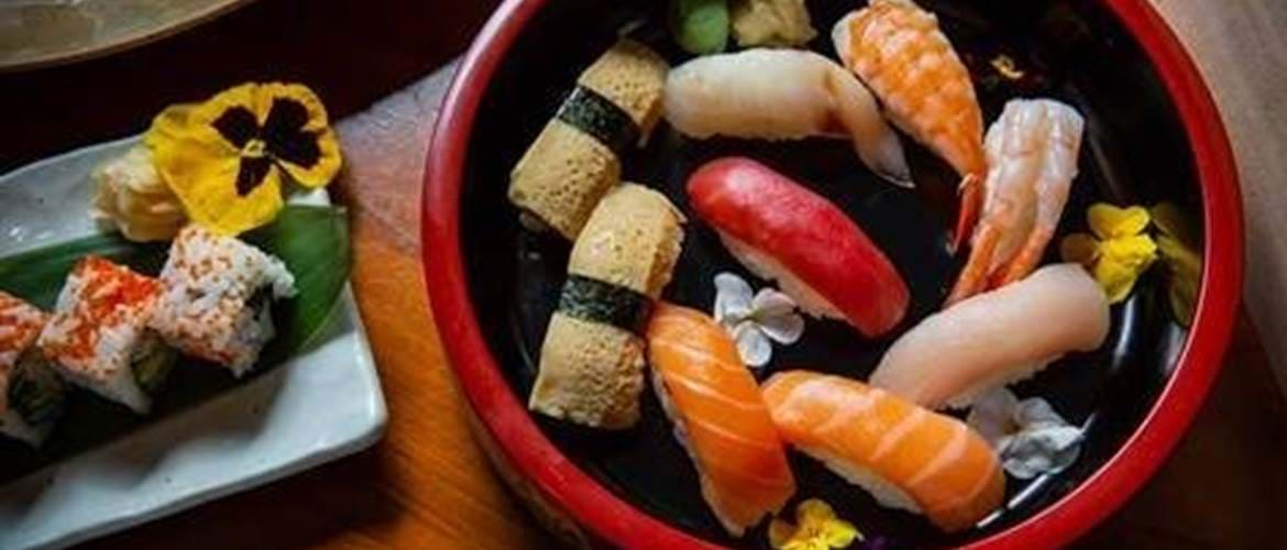 Sushi at TAKA Mayfair