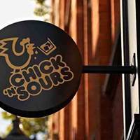Chick 'n' Sours Seven Dials sign