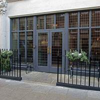 Entrance to Dean Street Townhouse