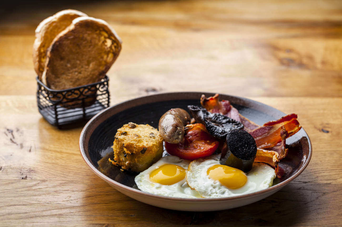 Full English, Brunch with a View, Brunch in London, Duck and Waffle, Bottomless Brunch in London
