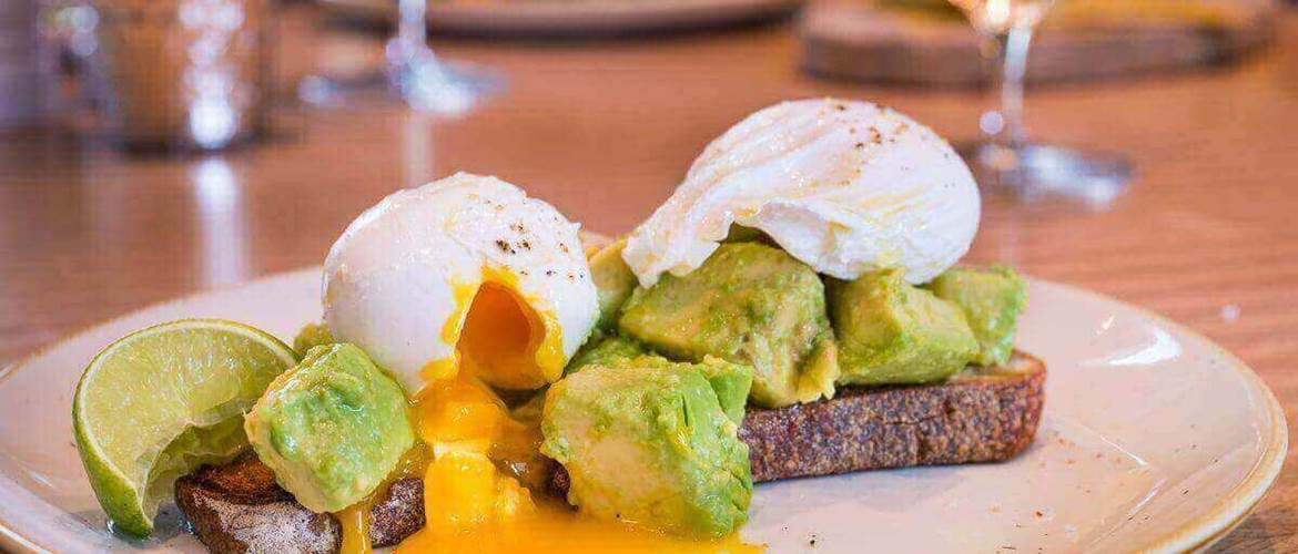 Poached Eggs and Avocado at Florentine Restaurant and Bar