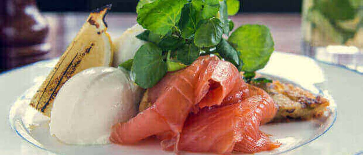 Smoked Salmon at Foxlow Balham