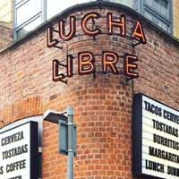 Outside Lucha Libre