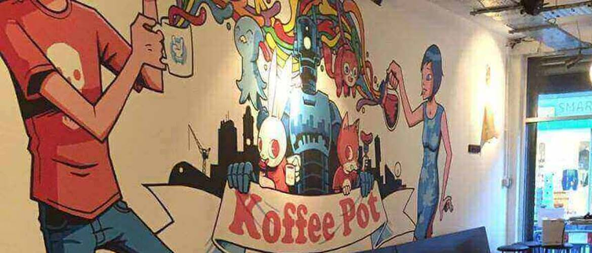The Koffee Pot interior