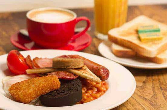 The Full English at The Koffee Pot
