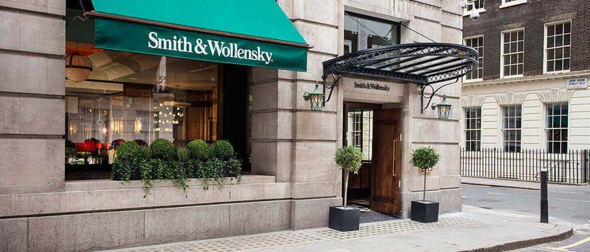 Smith and Wollensky exterior