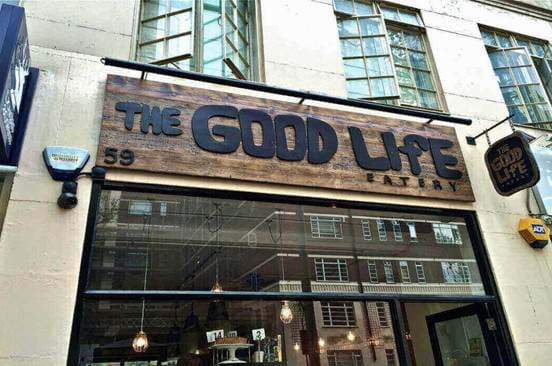 Exterior of Good Life Chelsea