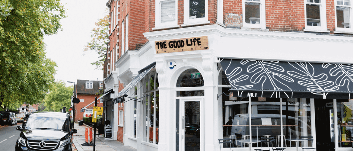 Outside Good Life Eatery Marylebone