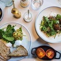 Spread at Granger and Co Clerkenwell