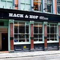 Exterior of Hack & Hop