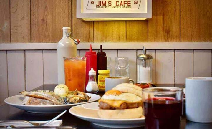 Breakfast at Jim's Cafe
