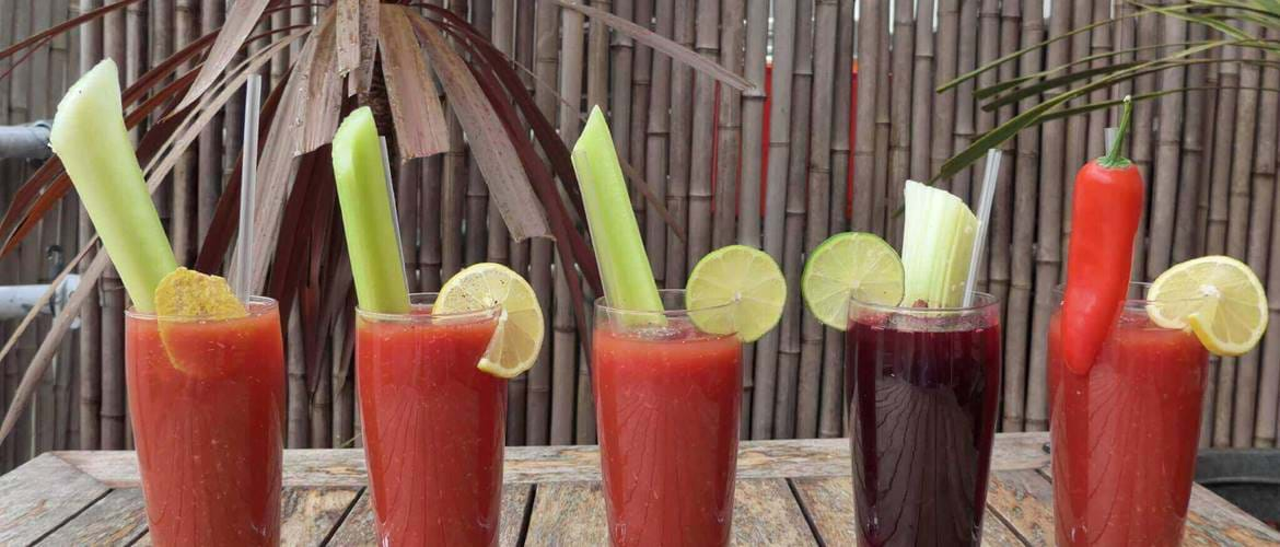 Bloody Mary's at The Lido Cafe