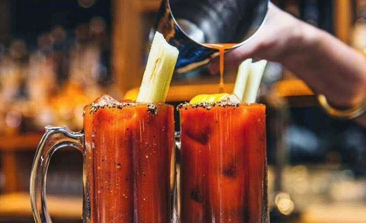 Bloody Mary's at Mac & Wild Devonshire Square