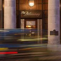 The Delaunay Exterior