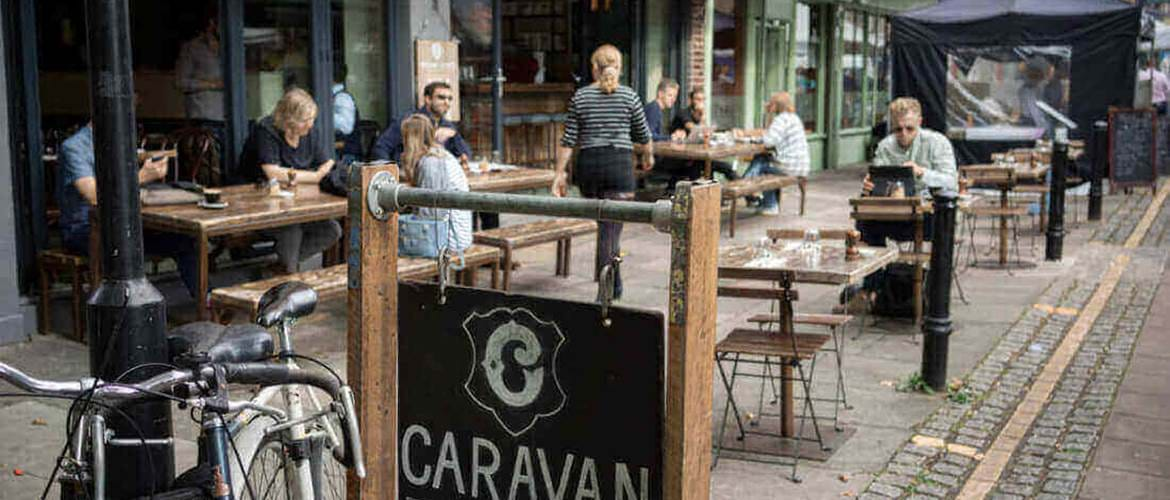 Outside Caravan Exmouth Market