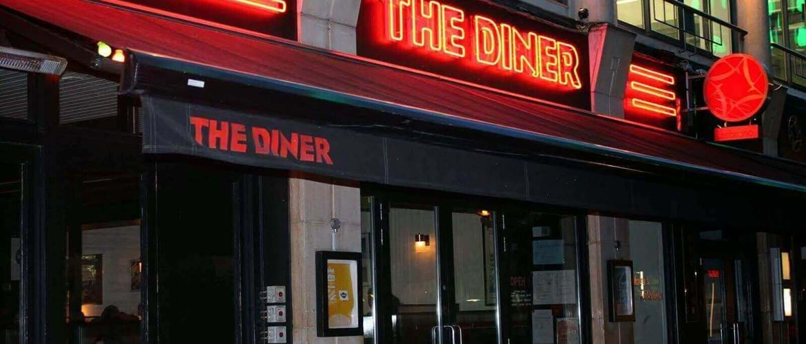 The Diner Soho Exterior