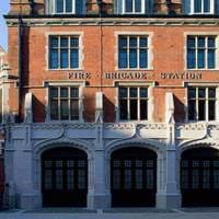 Exterior of Chiltern Firehouse