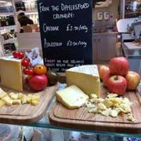 Organic Cheese at Daylesford Organic Farmshop & Cafe