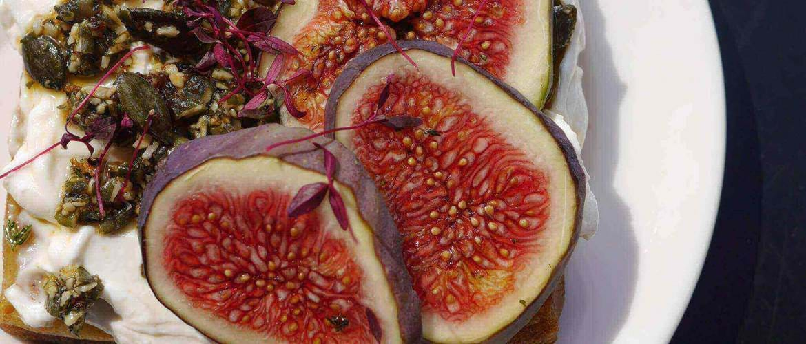 Figs at Good and Proper Tea