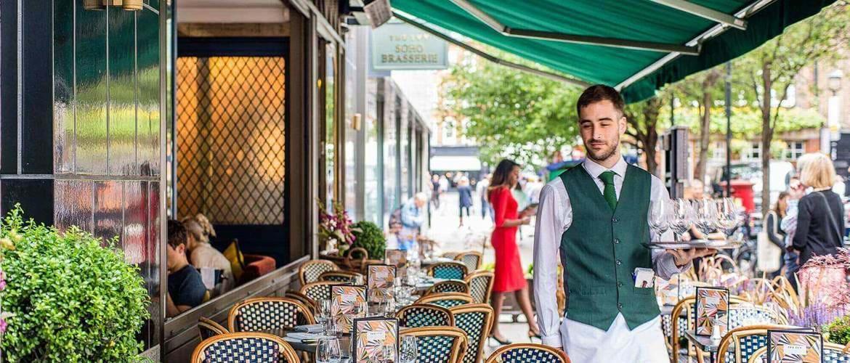 The Ivy Soho Brasserie London Book Brunch