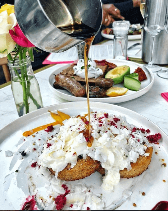 French Toast at Timmy Green London