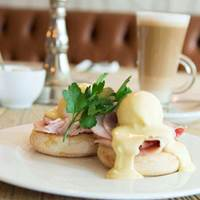 Eggs Benedict at The Bastion