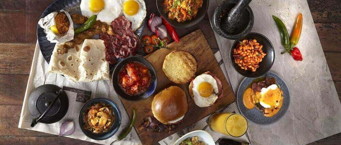 Indian Breakfast at Zouk Tea Bar & Grill