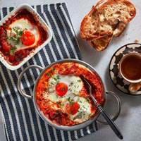 Baked Eggs at The Refinery