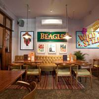 Interior at The Beagle