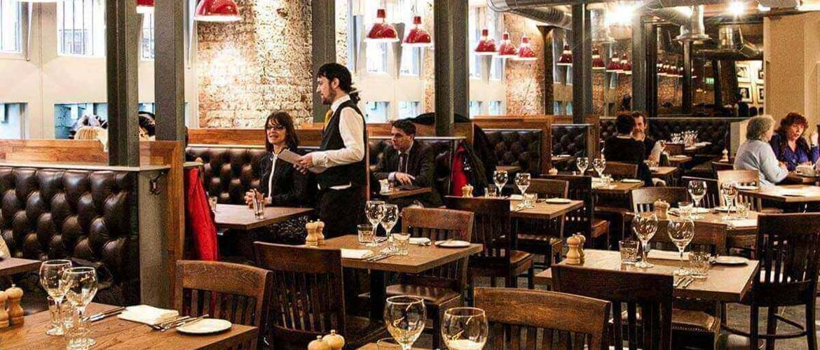 Interior of The Albert Square Chophouse