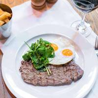 Steak and Eggs at The Albert Square Chophouse