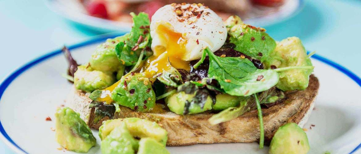 Home Sweet Home poached eggs and avocado
