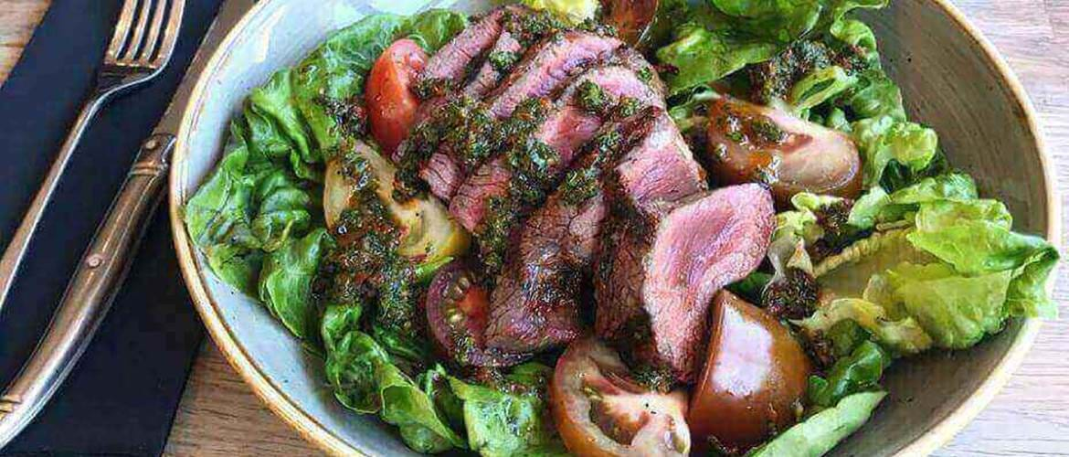 Steak Salad at Chop House