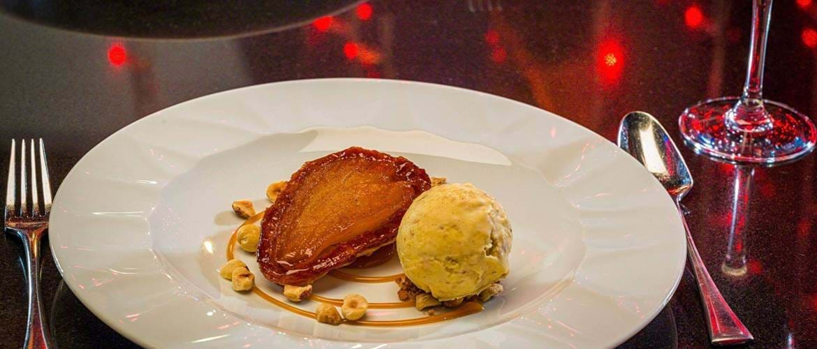 Tarte Tatin at Berts Jazz Bar