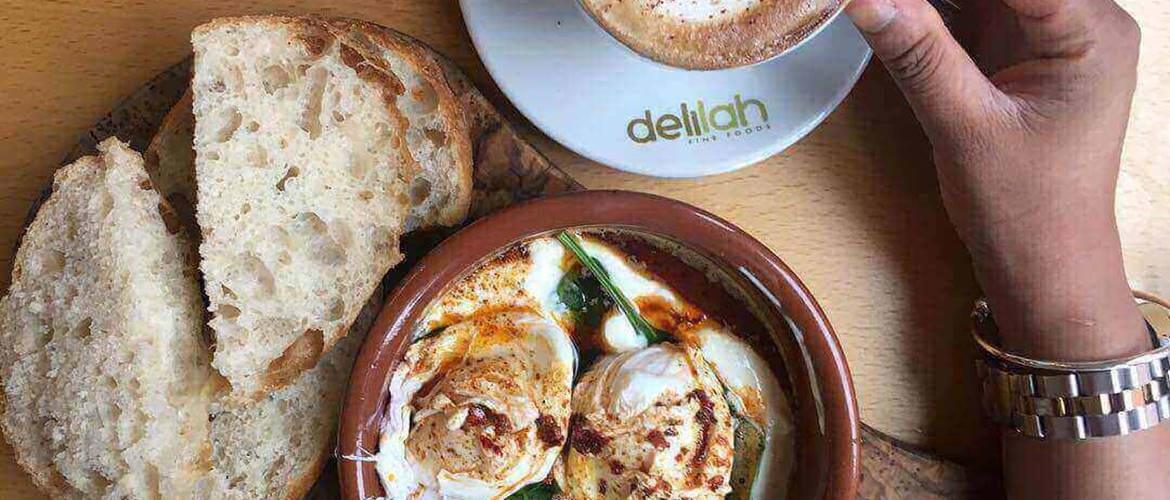 Brunch at Delilah Fine Foods